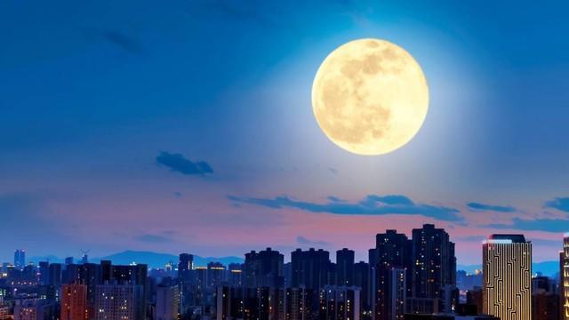 """""""人造月亮"""",照明利器还是污染之源?"""