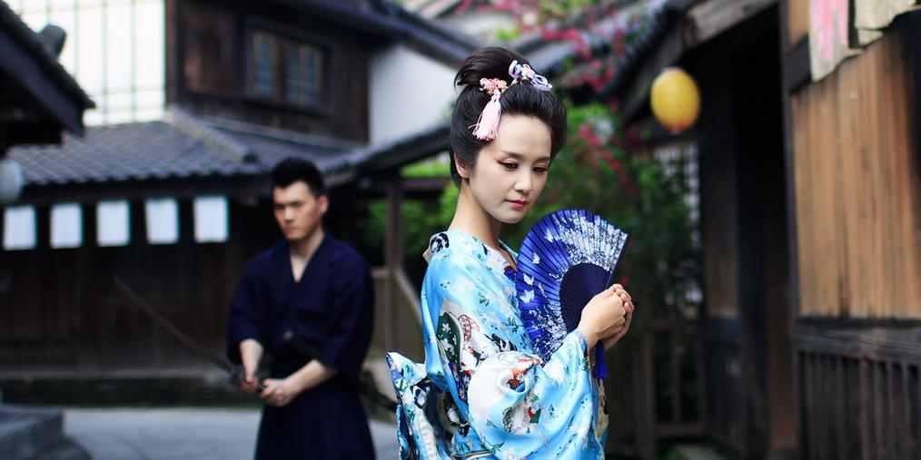 日本现场:穿越江户时代看古装美女武士