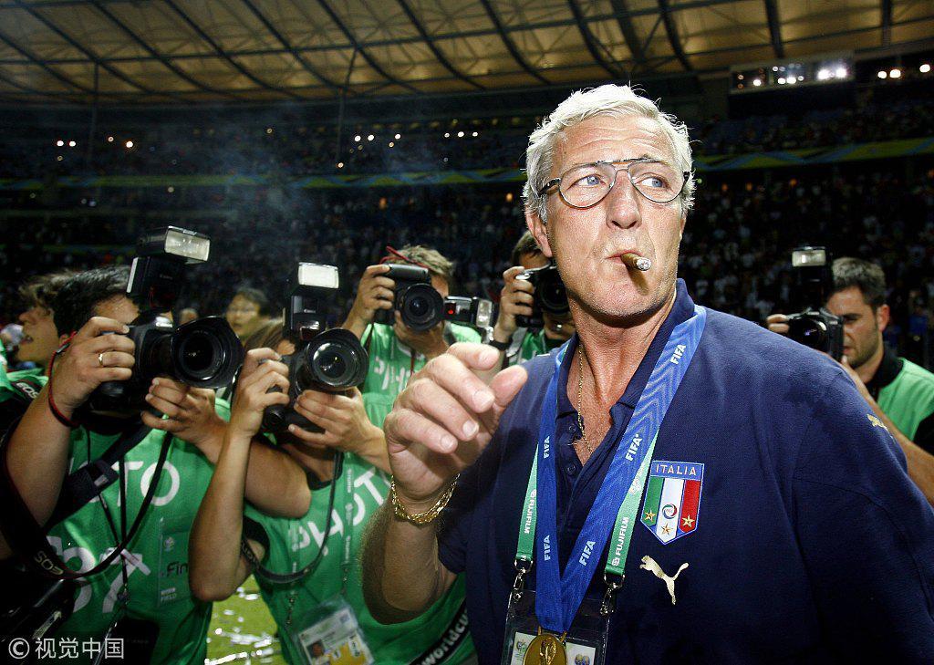 里皮2006年率意大利夺冠