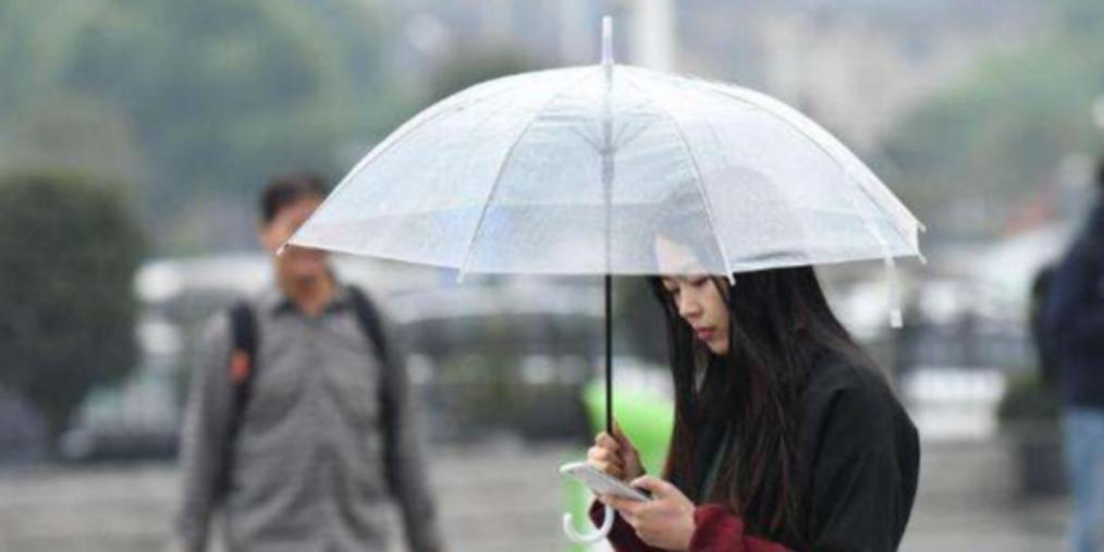 阳光将下线,杭州天气切至阴雨天