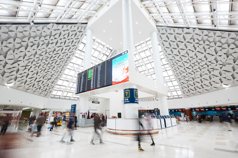 海口美蘭國際機場旅客吞吐量連續兩年突破2000萬