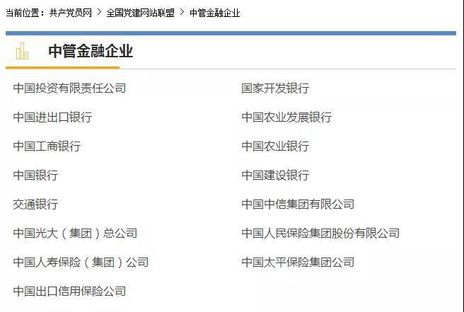 中纪委下一步反腐大动作:向各中管金融企业派驻纪检监察组