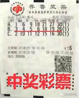 6元零钱机选中942117元大奖 中奖彩票曝光!