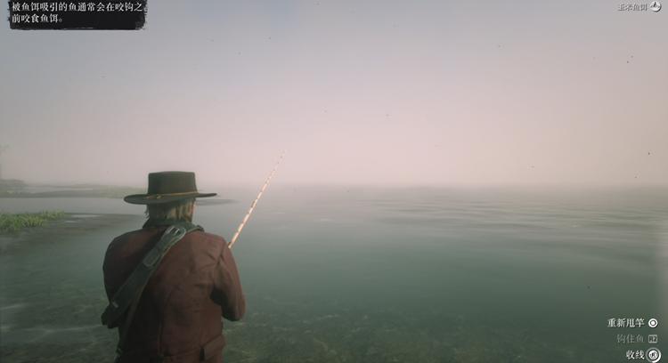 听说没有钓鱼玩法的游戏都是垃圾,还好R星也知道这个标准