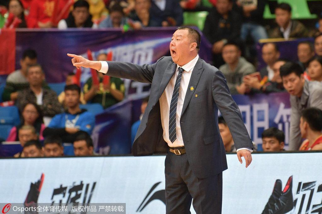 四川主帅感慨输在外线 吴庆龙:山东赢在了防守
