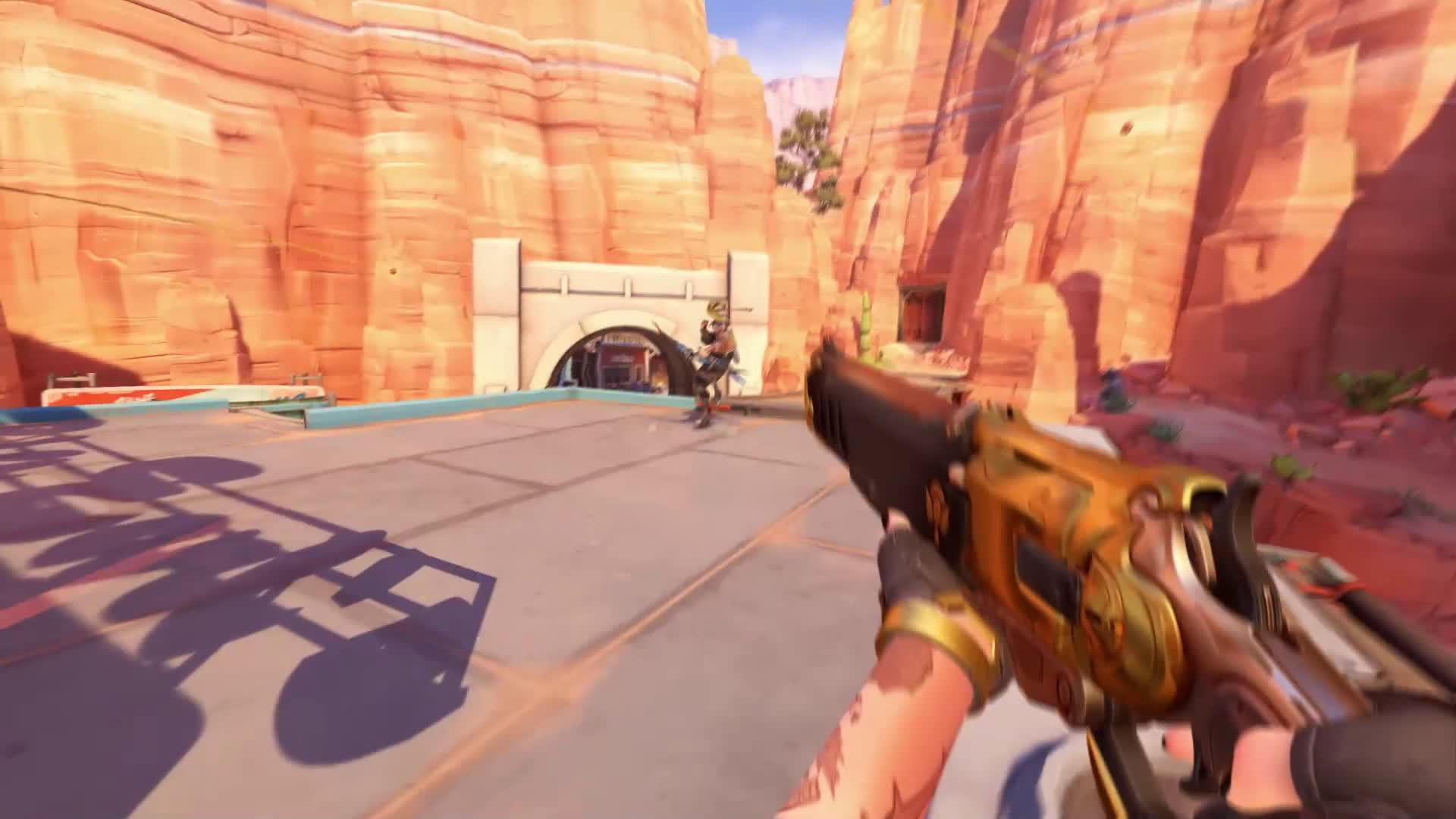 《守望先锋》最新女英雄艾什公布 武器火枪可扔炸弹