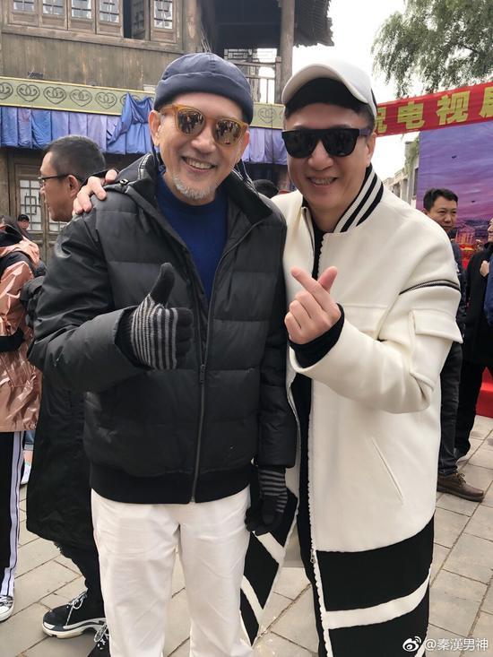"""""""琼瑶御用小生""""秦汉近照曝光 72岁帅气依旧"""