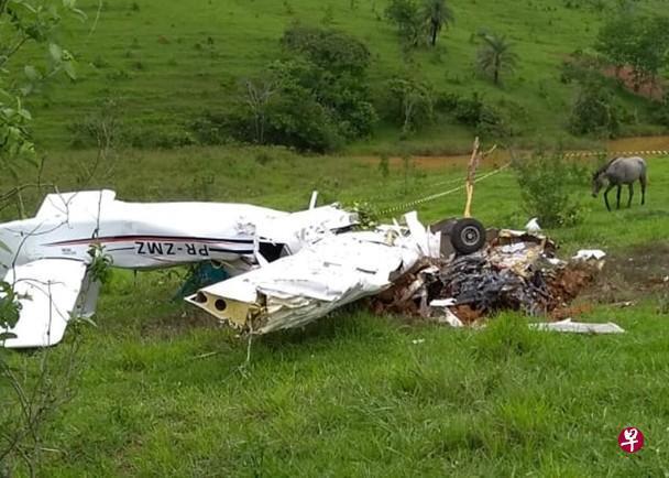 巴西接连出现直升机和小型飞机坠毁事件 10人死亡