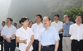 桂林市综治考察组到贺州市学习调研