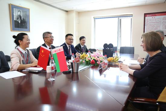 白俄罗斯教育部第一副部长到访金吉列 持续深化中白教育合作