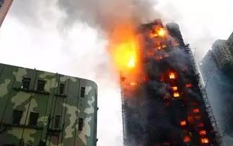 遇到高层建筑火灾 市民可以这样逃生