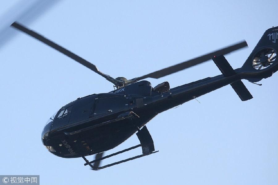 巴西一直升机和一小型飞机接连坠毁 造成10人遇难