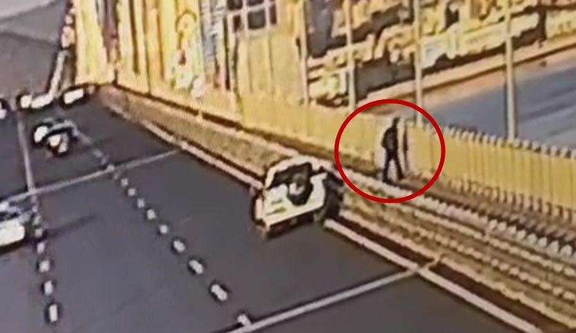 男子将车停在跨海大桥后神秘失踪 车内留有遗书