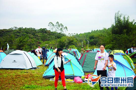 这个观音阁亲子帐篷节很酷!逾千人共享户外盛典
