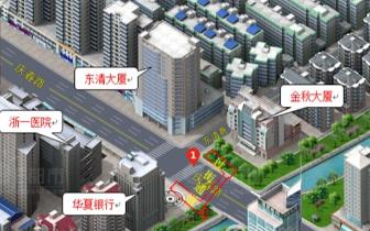 庆春路-东清巷人行地道明年9月投入使用