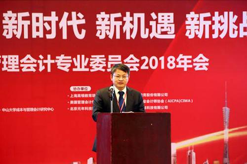 中国南方电网有限责任公司党组成员、总会计师文利民致辞