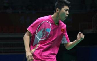 林贵埔还有一颗勇敢的心 被脚伤折磨两年的羽球新星复出