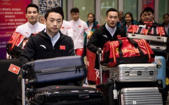 中国体操队世锦赛载誉归来 下一站剑指东京奥运会