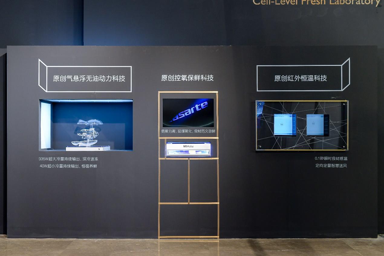 """2台冰箱在乌镇晒""""自拍"""":手法相同,结果不同"""