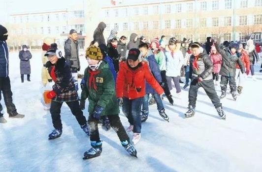 黑龙江全省将大力发展中小学冰雪体育教育