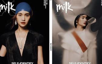 杨丞琳戴反光头套登杂志:不要怀疑 就是泳帽