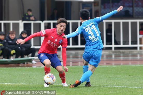 中甲附加赛首回合-陕西1-1梅县 次回合将移师梅州