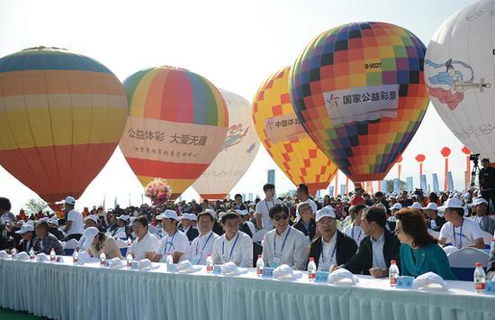 2018年全国滑翔伞定点联赛永靖站