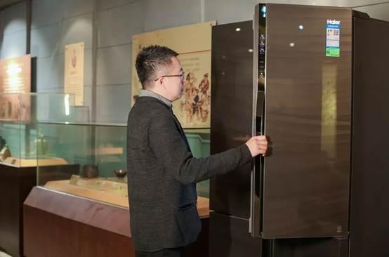 中华饮食文化博物馆收藏海尔时代代表作:海尔飨宴冰箱
