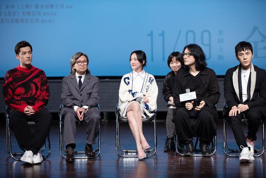 新片首映 周迅自曝曾给初中同学写过情书