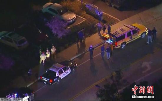 美加州酒吧枪击案已造成至少13人死亡 多人受伤