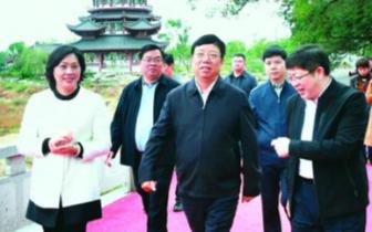 赵乐秦:做强做大县域经济 全面提升桂林北新城形象