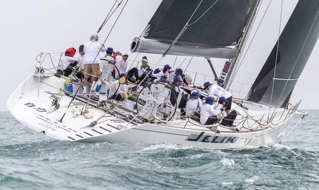 第十二届中国杯帆船赛开幕1600名水手逐浪大亚湾
