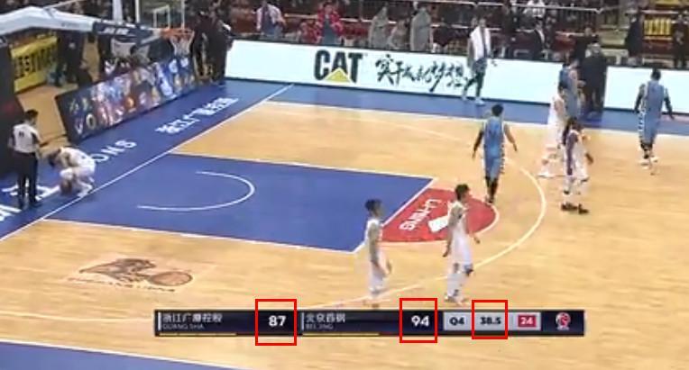 罕见!裁判翻出AJ2回合前犯规 回表18秒双方各扣2分