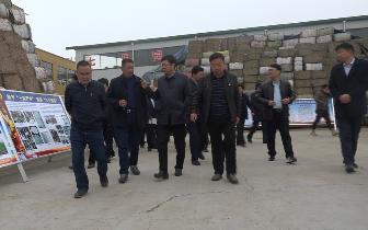 南阳副市长李鹏一行到药益宝艾制品公司考察