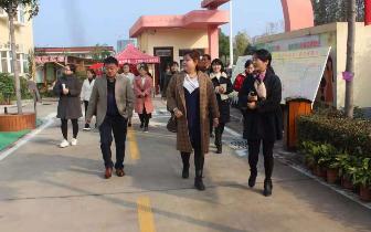 开发区第一幼儿园迎接安迪幼教集团同行参观学习