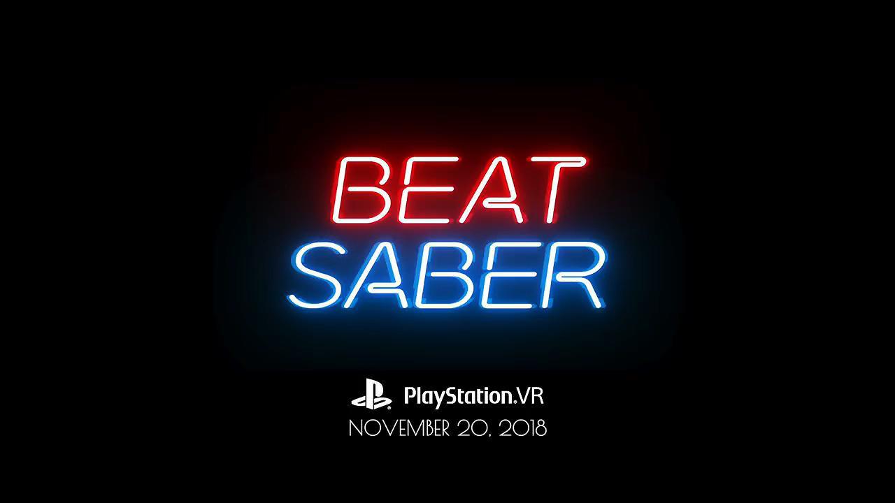 《节奏光剑》将在这个月正式上架PSVR 带有5首独家歌曲