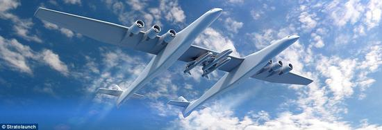Stratolaunch成功测试全球最大飞机发动机点火