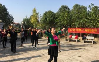 孝南区文体新局开展送广场舞培训下乡活动