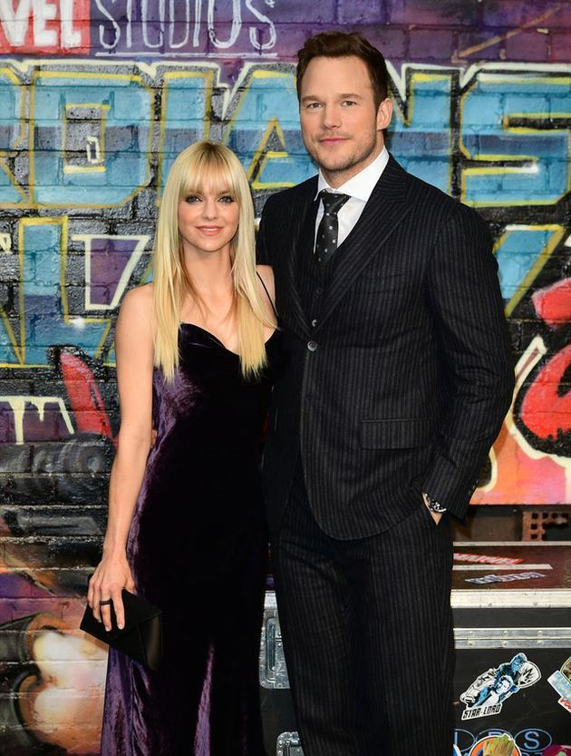 星爵Chris Pratt和前妻Anna Faris正式离婚