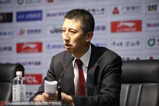 郭士强:队员未百分百投入 辽宁的特点绝对不能丢