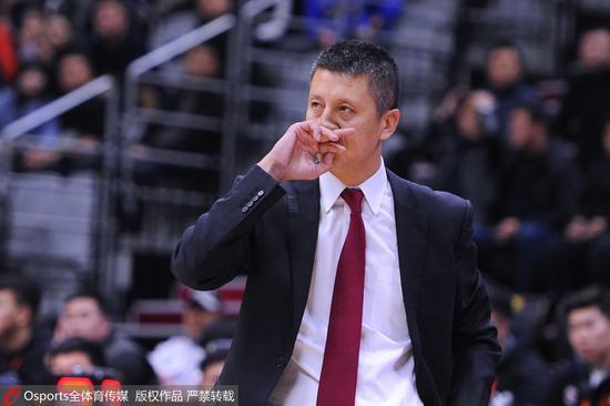 郭士强:输吉林辽篮进攻正常 防守才是球队的命门