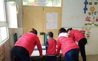 西平县焦庄希望幼儿园举办反恐防范演练活动