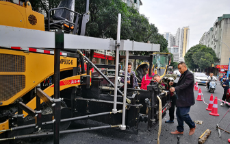 金城江南新路拥政路口9日晚至11日早封闭施工