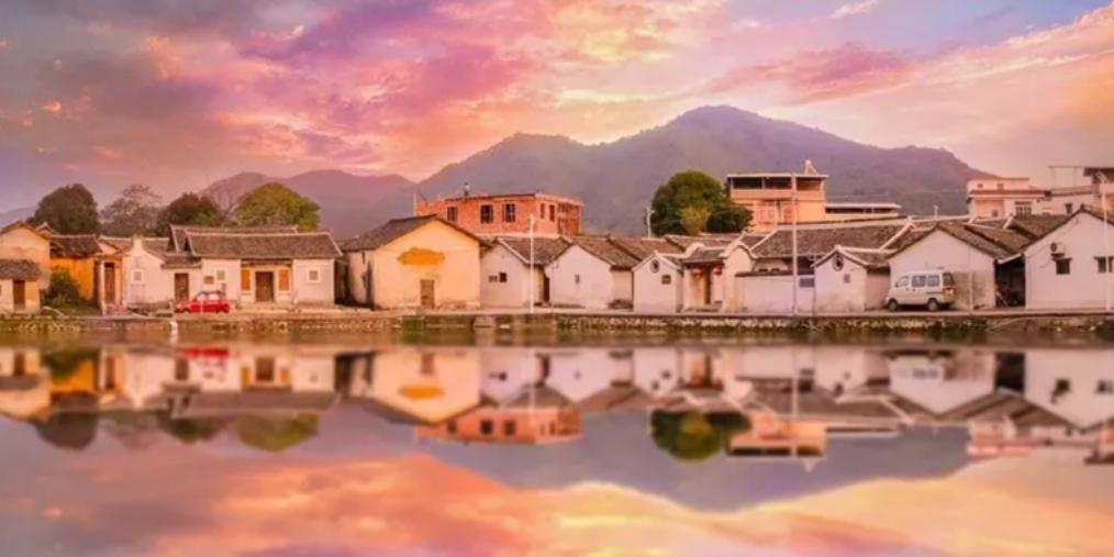 如画般的最美传统古村落——梅县雁洋松坪村