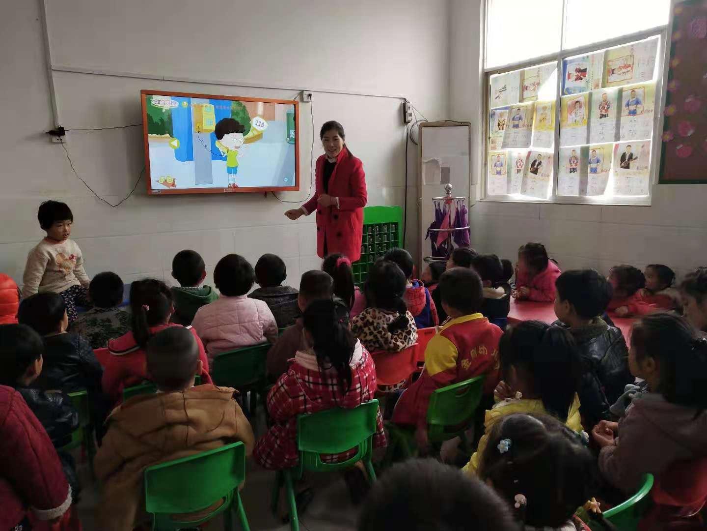 西平县焦庄金刚幼儿园把防恐防暴工作融入到课堂之中
