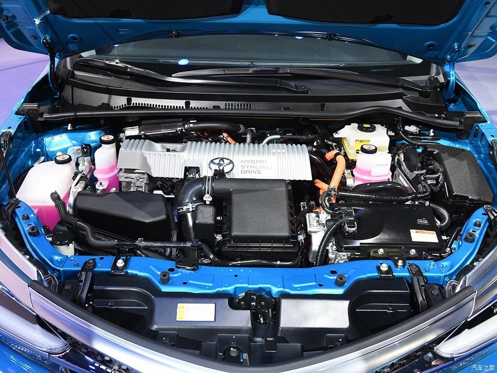 图为2018款一汽丰田卡罗拉双擎E+