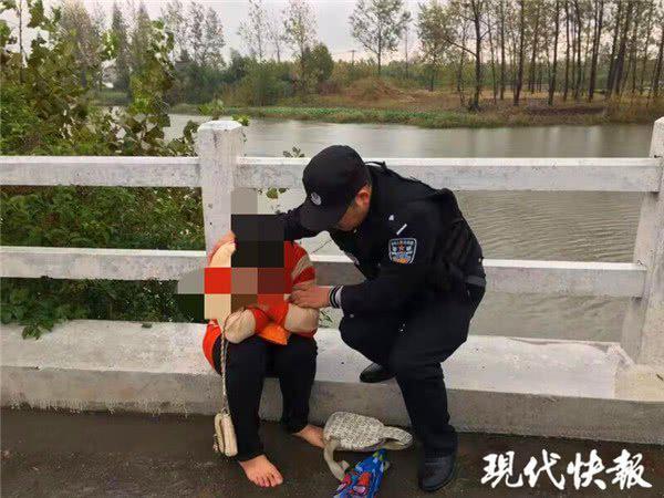 女子要跳河轻生 警察救人后发现她的身世太惨了