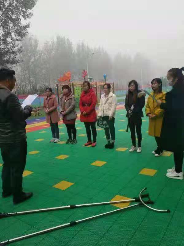 西平县焦庄毛寨民族幼儿园组织反恐防暴安全教育