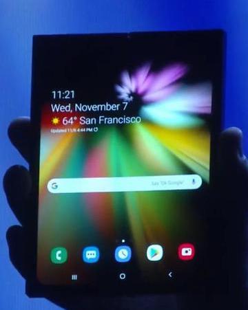 三星:可折叠手机明年上半年上市