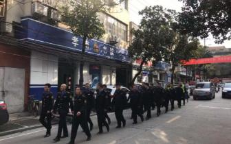 孝南区城管执法局联合执法促能力提升